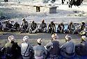 Irak 1985  Dans les zones libérées, région de Lolan, les peshmergas du Dr. Said Barzani  Iraq 1985 In liberated areas, Lolan district, peshmergas of Dr. Said Barzani