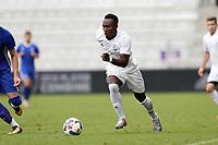 Orlando, Florida - Saturday January 13, 2018: Francis Atuahene. Match Day 1 of the 2018 adidas MLS Player Combine was held Orlando City Stadium.