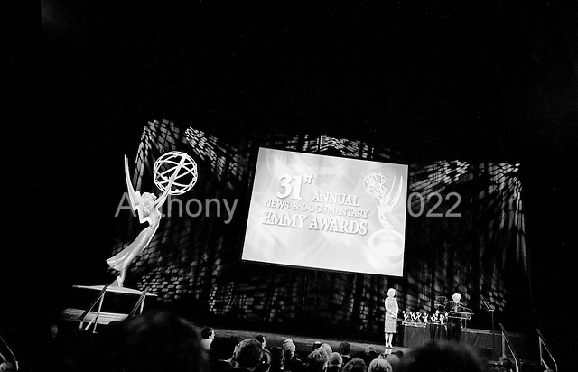New York, New York<br /> USA<br /> September 27, 2010<br /> <br /> The 31st Annual News and Documentary, Emmy Awards held at Frederick P. Rose Hall, Jazz at Lincoln Center.<br /> <br /> Documentary film maker Fredrick Wiseman accepts his Lifetime Achievement Award.