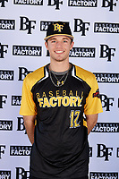Tyler Wade (12) of Midland High School in Midland, Texas during the Baseball Factory All-America Pre-Season Tournament, powered by Under Armour, on January 12, 2018 at Sloan Park Complex in Mesa, Arizona.  (Mike Janes/Four Seam Images)