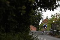 Road Cyclist  , Sunningdale , Berkshire , September 2011 pic copyright Steve Behr / Stockfile