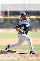 Jose Jimenez, Seattle Mariners 2010 minor league spring training..Photo by:  Bill Mitchell/Four Seam Images.