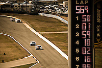 22-25 January, 2009, Daytona Beach, Florida USA.One hundred sixty-six laps later they would finish in the same order......©F.Peirce Williams 2009.F.Peirce Williams.photography
