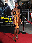 Lupita Nyong'o attends Universal Pictures' Non-Stop held at Regency Village Theatre in Westwood, California on February 24,2014                                                                               © 2014 Hollywood Press Agency