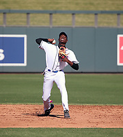 Brayan Moray participates in the MLB International Showcase at Salt River Fields on November 12-14, 2019 in Scottsdale, Arizona (Bill Mitchell)