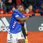 06.02.2019: Aberdeen v Rangers: Alfredo Morelos celebrates