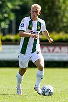 LEEK - Voetbal, Pelikaan S - FC Groningen , voorbereiding seizoen 2021-2022, oefenduel, 03-07-2021, FC Groningen speler Thomas Poll
