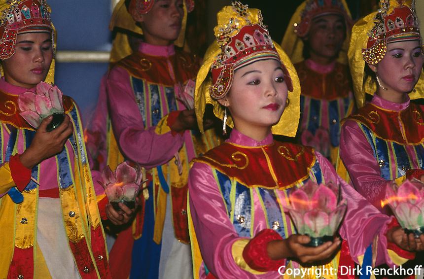kaiserliche Hofmusik in Hue, Vietnam.