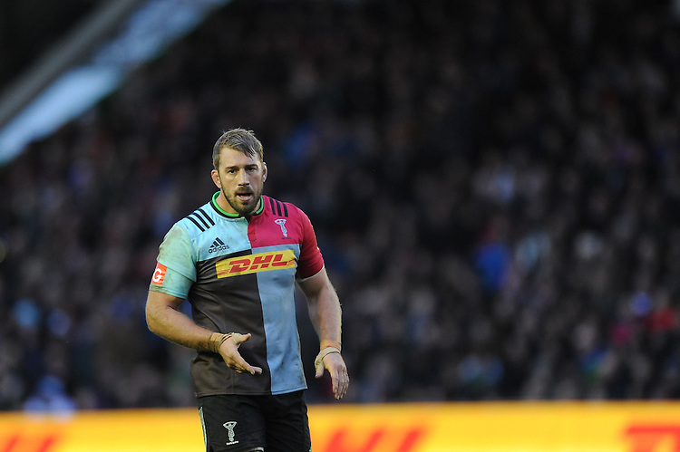 Chris Robshaw of Harlequins during the Premiership Rugby match between Harlequins and Saracens - 09/01/2016 - Twickenham Stoop, London<br /> Mandatory Credit: Rob Munro/Stewart Communications