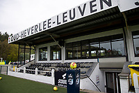 Illustrative photo of the match ball taken before a female soccer game between Oud Heverlee Leuven and Standard femina de liege on the 5 th matchday of play off 1 in the 2020 - 2021 season of Belgian Womens Super League , saturday 8 th of May 2021  in Heverlee , Belgium . PHOTO SPORTPIX.BE | SPP | SEVIL OKTEM