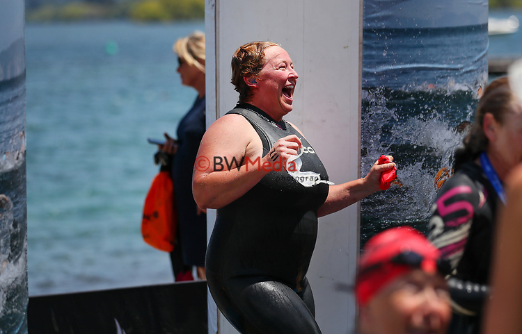 during the New Zealand Open Water Swimming Championships, Lake Taupo, Waikato, New Zealand. Saturday 16 January 2021. Photo: Simon Watts/www.bwmedia.co.nz/SwimmingNZ