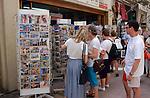Postkarten, Postcards, Andenken, Souvenir, Souvenirs, Nikosia, Nicosia, street-life, Cyprus, Zypern