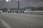 JUL 26,2014:Fed Biz,ridden by Martin Garcia,(leadong horse)wins the San Diego Handicap at Del Mar in Del Mar,CA. Kazushi Ishida/ESW/CSM