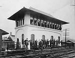 The Tower at Bank Street in Waterbury, 1908.