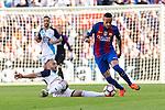 FC Barcelona's Neymar Santos Jr during the La Liga match between Futbol Club Barcelona and Deportivo de la Coruna at Camp Nou Stadium Spain. October 15, 2016. (ALTERPHOTOS/Rodrigo Jimenez)