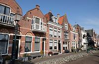 Nederland - Hoorn- 2020.   Huizen bij de haven in Hoorn.    Foto ANP / HH / Berlinda van Dam