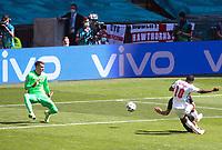 England v Croatia UEFA EURO, EM, Europameisterschaft,Fussball 2020 Raheem Sterling opens the scoring for England during the UEFA Euro 2020 Group D match at Wembley Stadium, London PUBLICATIONxNOTxINxUKxCHN Copyright: xPaulxChestertonx FIL-15601-0091 <br /> Photo Paul Chesterton / Imago / Insidefoto <br /> <br /> ITALY ONLY