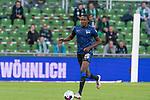 19.09.2020, wohninvest Weserstadion, Bremen, GER,  SV Werder Bremen vs Hertha BSC Berlin, <br /> <br /> <br />  im Bild<br /> <br /> Dedryck Boyata (Hertha BSC #20)<br /> Einzelaktion, Ganzkörper / Ganzkoerper <br /> Querformat<br /> <br /> Foto © nordphoto / Kokenge<br /> <br /> DFL regulations prohibit any use of photographs as image sequences and/or quasi-video.