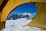 Mountain campsite, Denali National Park, Alaska