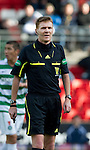 St Johnstone v Celtic..30.10.10  .Ref Calum Murray.Picture by Graeme Hart..Copyright Perthshire Picture Agency.Tel: 01738 623350  Mobile: 07990 594431