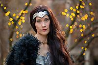 Keri Lord, Wonder Woman Cosplay, Emerald City Comicon, Seattle, WA, USA.