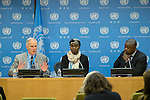 Press Conference by Fatimata M'Baye and Philip Alston, Members of the Commission of Inquiry on the Central African Republic (CAR).