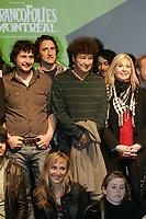 Photo d'archive - Robert Charlebois , Francofolies 2010<br /> <br /> PHOTO :  Agence Quebec Presse <br /> <br /> <br /> <br /> <br /> PHOTO :   Agence Quebec Presse