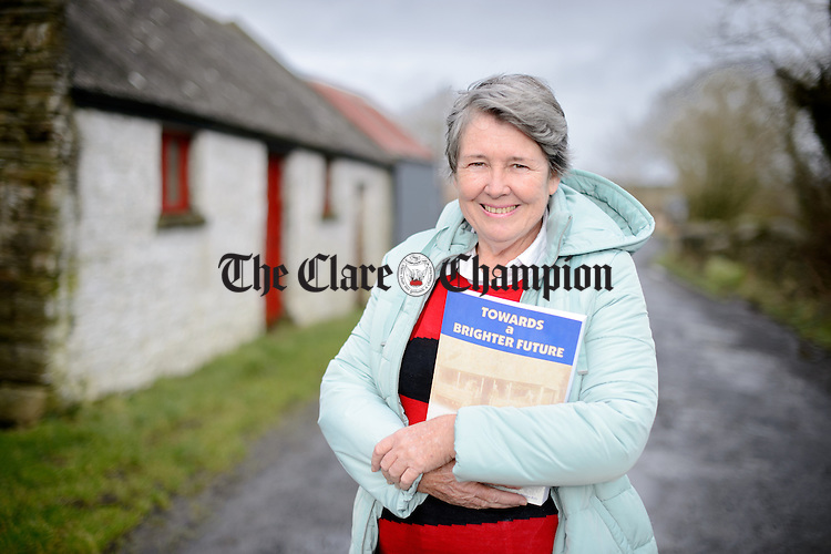 Marilyn Kelly on her visit to Cooraclare. Photograph by John Kelly.
