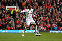 Pictured: Michu.<br /> Re: Barclay's Premier League, Manchester City FC v Swansea City FC at the Old Trafford Stadium, Manchester.
