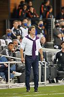 SAN JOSE, CA - JULY 24: San Jose Earthquakes head coach Matias Almeyda during a game between Houston Dynamo and San Jose Earthquakes at PayPal Park on July 24, 2021 in San Jose, California.