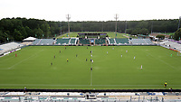 CARY, NC - AUGUST 01: First kick of the game during a game between Birmingham Legion FC and North Carolina FC at Sahlen's Stadium at WakeMed Soccer Park on August 01, 2020 in Cary, North Carolina.