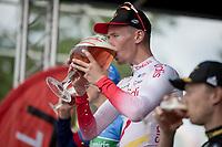 Kenneth Vanbilsen (BEL/Cofidis) wins Dwars door het Hageland 2019 (1.1)<br /> <br /> 1 day race from Aarschot to Diest (BEL/204km)<br /> <br /> ©kramon