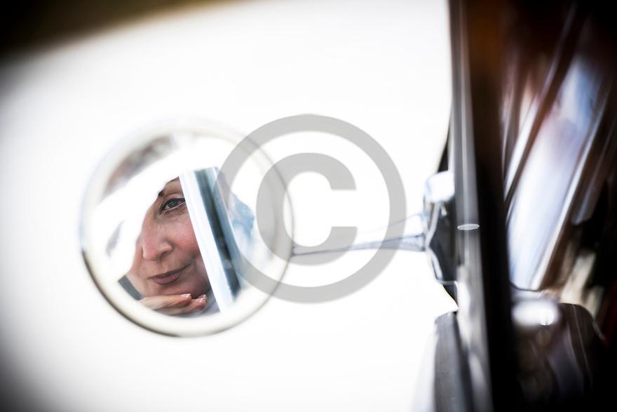 12/03/19 - BRIOUDE - HAUTE LOIRE - FRANCE - Essais Cabriolet MERCEDES 300 Adenauer de 1955 - Photo Jerome CHABANNE