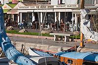 Europe/France/Corse/2B/Haute-Corse/Cap Corse/Bastia: Terrasse du Restaurant: Le Jean Bart sur le Vieux Port