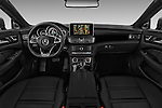 Stock photo of straight dashboard view of 2016 Mercedes Benz CLS-Shooting-Brake 63-AMG-S 5 Door Wagon Dashboard