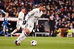 Real Madrid's Raphael Varane during Copa del Rey match between Real Madrid and Celta de Vigo at Santiago Bernabeu Stadium in Madrid, Spain. January 18, 2017. (ALTERPHOTOS/BorjaB.Hojas)
