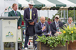 David Hall (AUS) speaks at the 2015 Induction Ceremony at the International Tennis Hall of Fame, Newport, RI USA.  The ceremony took place on July 18, 2015
