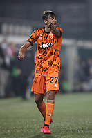 Ferdinando Del Sole of Juventus reacts during the Lega Pro Serie C match at Stadio Silvio Piola, Vercelli. Picture date: 21st October 2020. Picture credit should read: Jonathan Moscrop/Sportimage PUBLICATIONxNOTxINxUK SPI-0715-0057