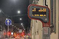 - Milan, tram stop in Corso Italia street<br /> <br /> - Milano, fermata del tram in Corso italia
