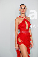 CAP D'ANTIBES, FRANCE - JULY 16:  Chiara Sampaio at the amfAR Cannes Gala 2021 during the 74th Annual Cannes Film Festival at Villa Eilenroc on July 16, 2021 in Cap d'Antibes, France. <br /> CAP/GOL<br /> ©GOL/Capital Pictures