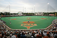 Texas UFCU Disch-Falk Field. Texas Longhorns against the Texas A&M Aggies on May 16th, 2008 in Austin Texas. Photo by Andrew Woolley / Four Seam Images.