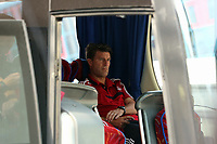 Thursday 29 August 2013<br /> Pictured: Michael Laudrup.<br /> Re: Petrolul Ploiesti v Swansea City FC UEFA Europa League, play off round, 2nd leg, Ploiesti, Romania.