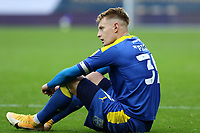Joe Pigott of AFC Wimbledon reaction to the AFC Wimbledon loss during AFC Wimbledon vs Shrewsbury Town, Sky Bet EFL League 1 Football at The Kiyan Prince Foundation Stadium on 17th October 2020