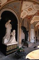 Friedhof auf dem Vysehrad, Prag, Tschechien, Unesco-Weltkulturerbe.