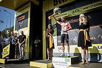 Stage 8 winner Thomas De Gendt (BEL/Lotto Soudal)<br /> <br /> Stage 8: Macon to Saint-Etienne (200km)<br /> 106th Tour de France 2019 (2.UWT)<br /> <br /> ©kramon