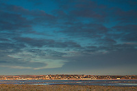 Broughty Ferry and the River Tay from Tayport, Fife