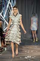 Lindenwood University Spring Fashion Show at Mercedes Benz in St. Louis, Missouri on May 9, 2015.