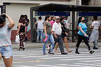 Campinas (SP), 11/02/2021 - Cidades - Movimentação de pedestres na cidade de Campinas, interior de São Paulo, nesta quarta-feira (11).