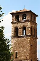 The bell tower of the church of San Pietro della Pietà (Tivoli, 2020).<br /> <br /> Il campanile della chiesa di San Pietro della Pietà (Tivoli, 2020).