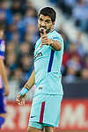 Luis Alberto Suarez Diaz of FC Barcelona reacts during the La Liga 2017-18 match between CD Leganes vs FC Barcelona at Estadio Municipal Butarque on November 18 2017 in Leganes, Spain. Photo by Diego Gonzalez / Power Sport Images
